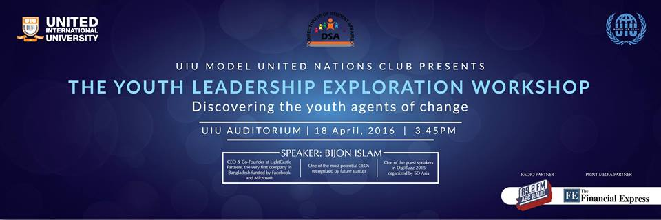 The Youth Leadership Exploration Workshop- Discovering the Young Agents of Change