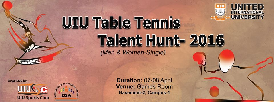 uiu table tennis