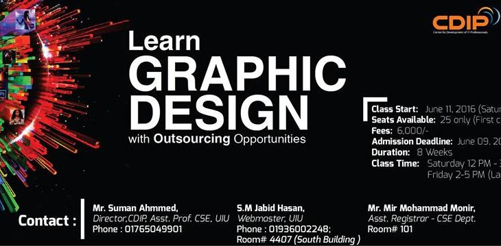 graphic design course Dhaka bangladesh