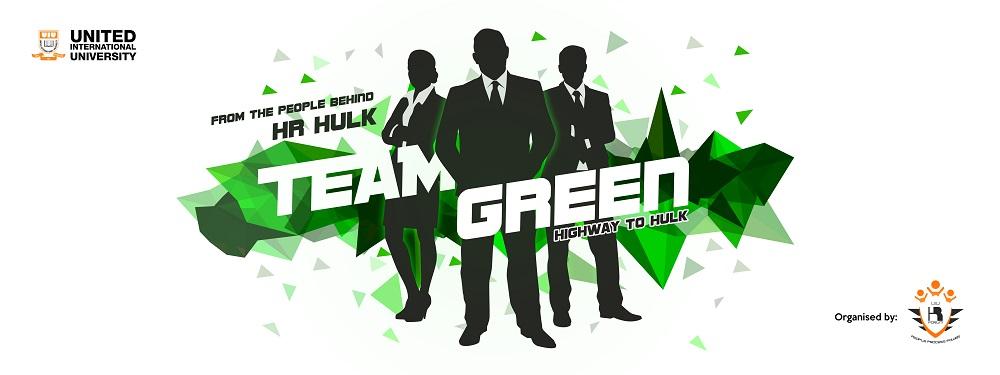 Team Green Banner