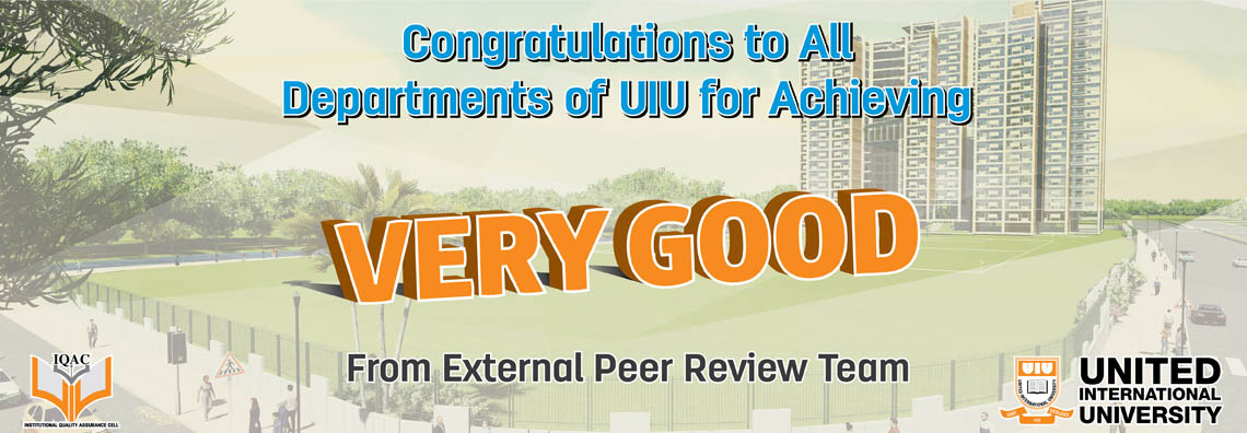 Congratulations Extrenal Peer Review Team