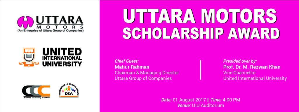 Uttara Motors Scholarship