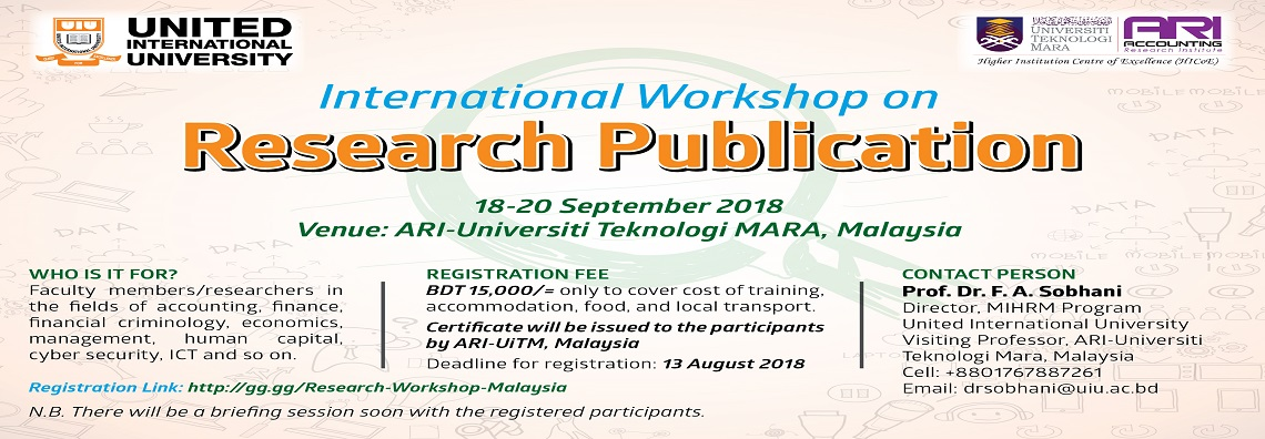 International Workshop on Research Publication